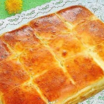 Ellenállhatatlan sajtos finomság, ami felülmúlja az összes sós süteményt, amit eddig kóstoltál