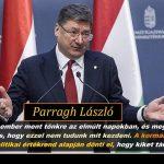 Parragh László, Orbán egyik főtanácsadója kijelentette a lényeget