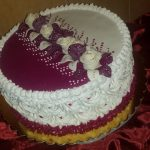 Gesztenye torta ünnepi köntösben