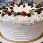Vaníliás-tejszínes torta