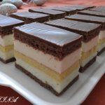 Sárika szelet, kiváló választás ha egy igazán krémes, fenséges sütire vágysz!