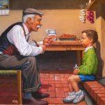 """Nagyapám tanítása """"Wass Albert"""""""