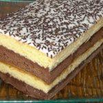 Puha vaníliás és csokis piskóta, Nutellával, ennél egyszerűbb és ínycsiklandóbb sütemény nincs