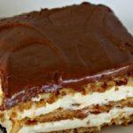 Álom szelet, sütés nélküli krémes csoda